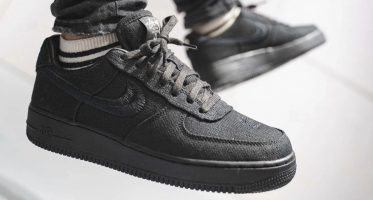 StussyNike Air Force 1 Low ''Black''