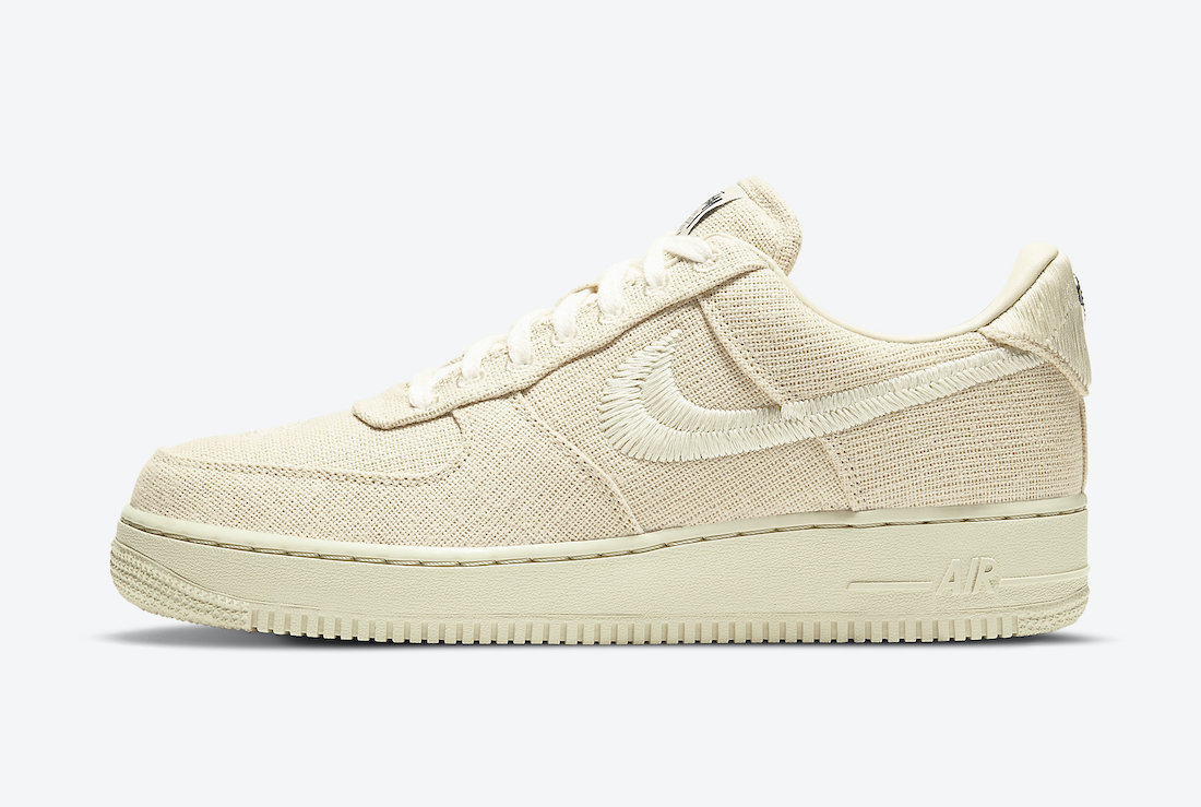 Stussy x Nike Air Force 1 Low ''Fossil'' - CZ9084-200