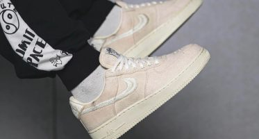 StussyNike Air Force 1 Low ''Fossil''