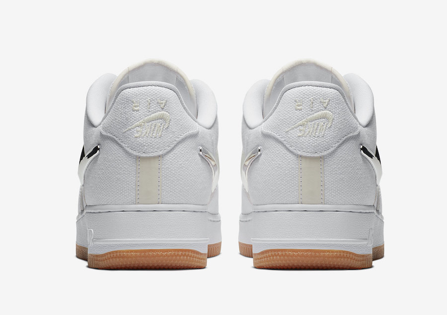 Travis Scott x Nike Air Force 1 Low ''White'' - AQ4211-100
