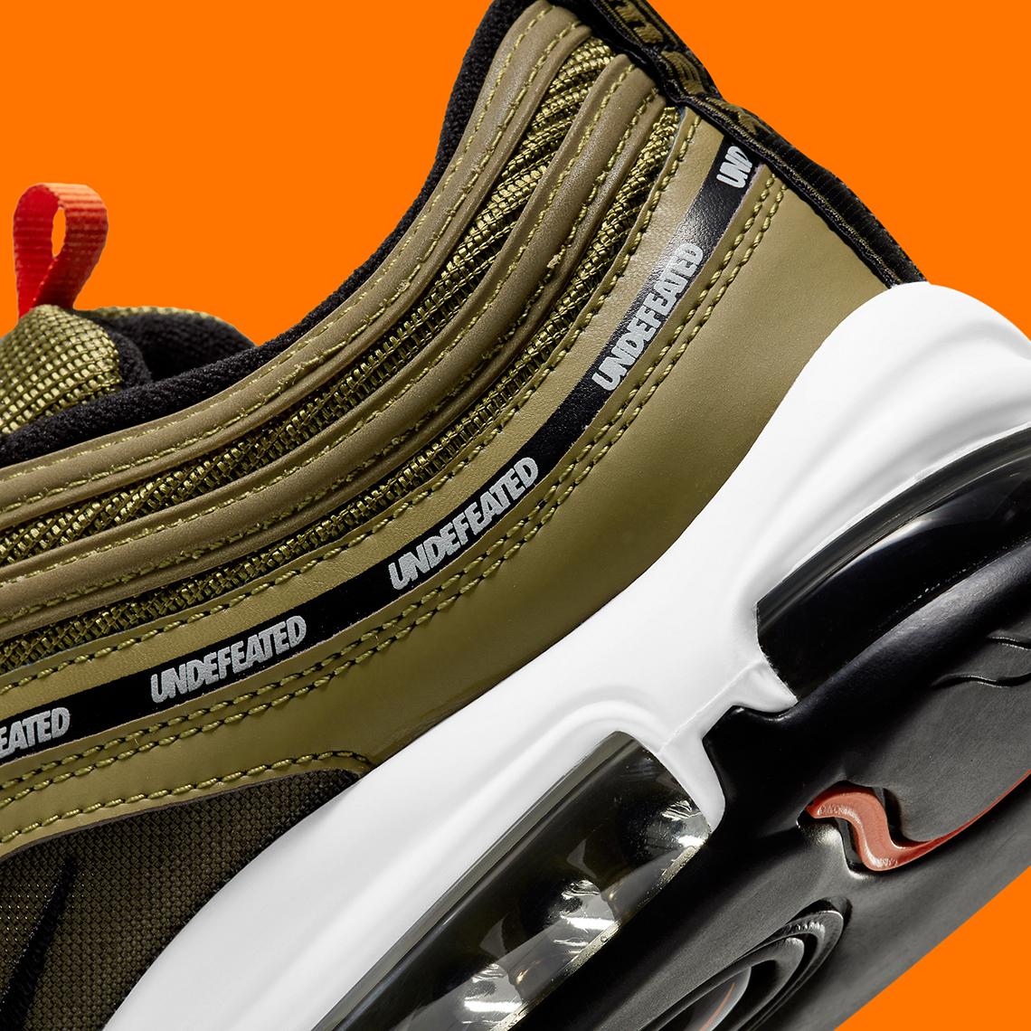 Undefeated x Nike Air Max 97 ''Militia Green'' - DC4830-300