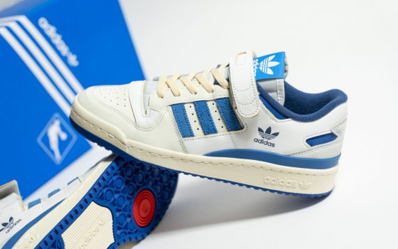 adidas Forum 84 Low OG ''Bright Blue'' - S23764