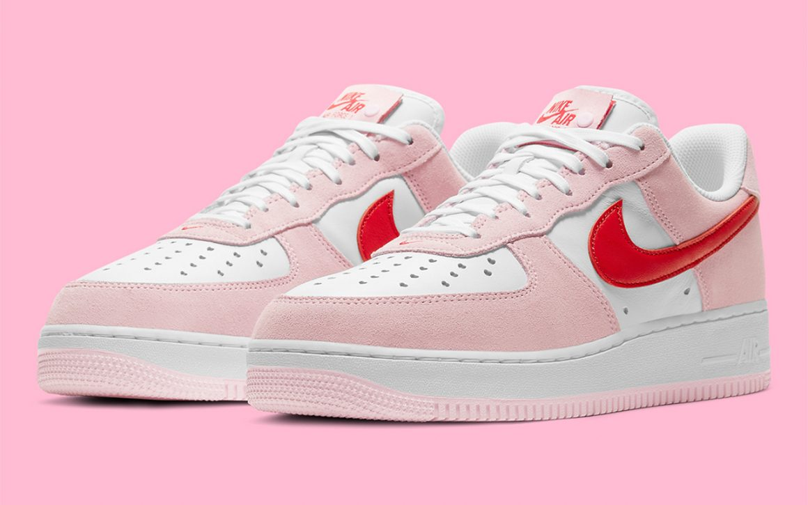 Nike Air Force 1 Low Valentine's Day ''Love Letter'' - DD3384-600 ...