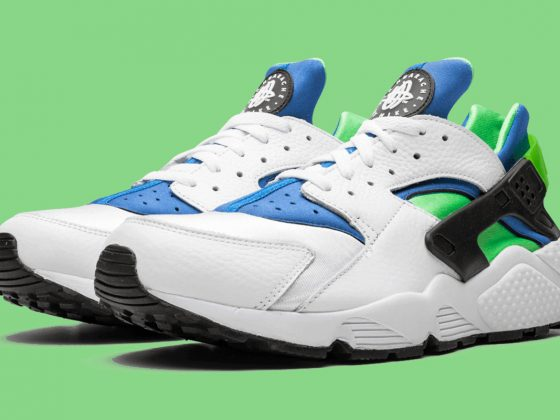 Nike Air Huarache ''Scream Green'' - DD1068-100