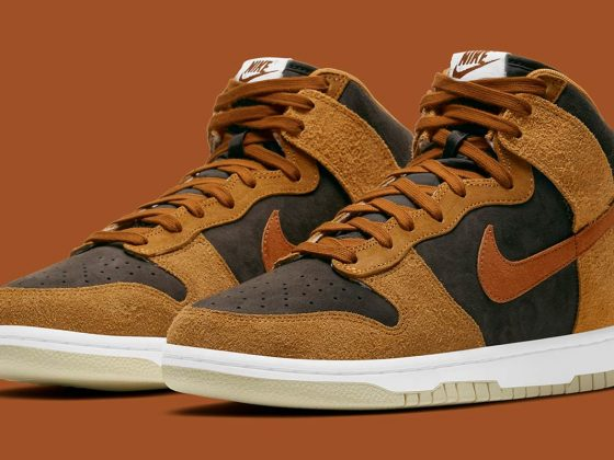 Nike Dunk High PRM ''Dark Russet'' - DD1401-200