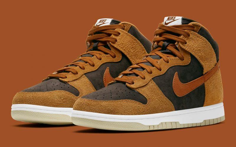 Nike Dunk High PRM ''Dark Russet'' - DD1401-200