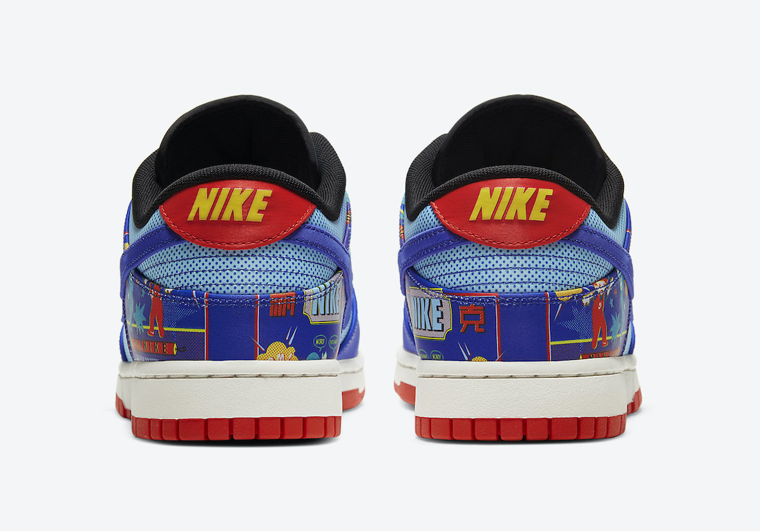 Nike Dunk Low CNY ''Firecracker'' - DD8477-446