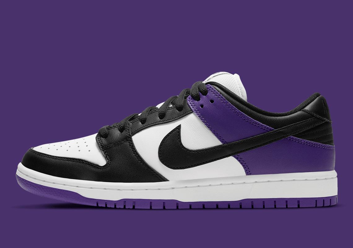 Nike SB Dunk Low Pro ''Court Purple'' - BQ6817-500