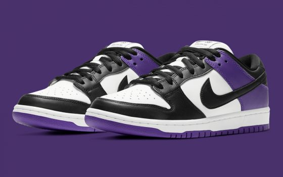 Nike SB Dunk Low Pro ''Court Purple'' - BQ6817-500