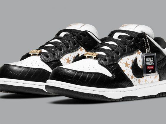 SUPREME x Nike SB Dunk Low ''Black'' - DH3228-102