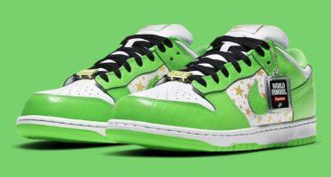 SUPREMENike SB Dunk Low ''Green''