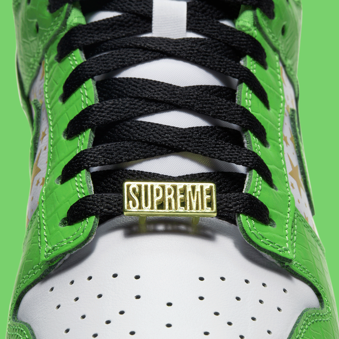 SUPREME x Nike SB Dunk Low ''Green'' - DH3228-101