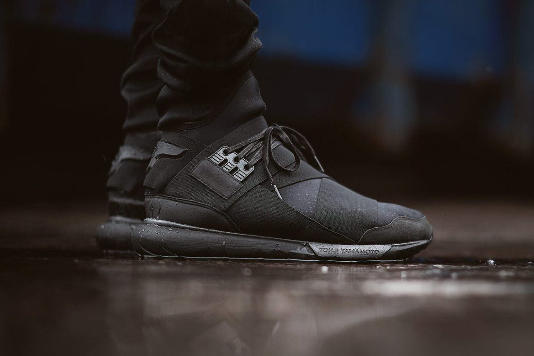 adidas Y-3 Qasa High - Triple Black