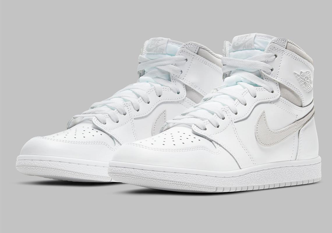 Air Jordan 1 High '85 ''Neutral Grey'' - BQ4422-100 - Sneaker Style