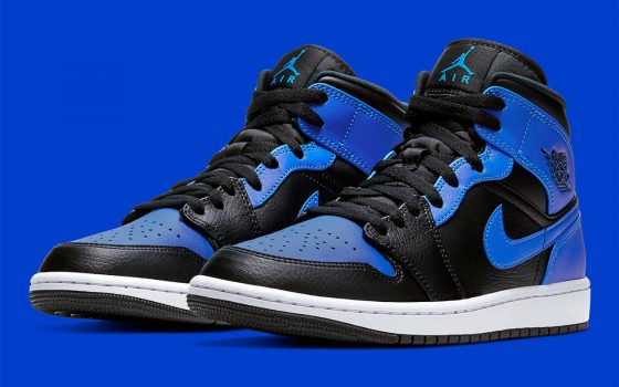 Air Jordan 1 Mid ''Hyper Royal'' - 554724-077