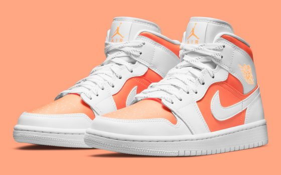 Air Jordan 1 Mid SE ''Bright Citrus'' – CZ0774-800