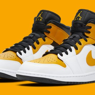 Air Jordan 1 Mid ''University Gold'' - 554725-170