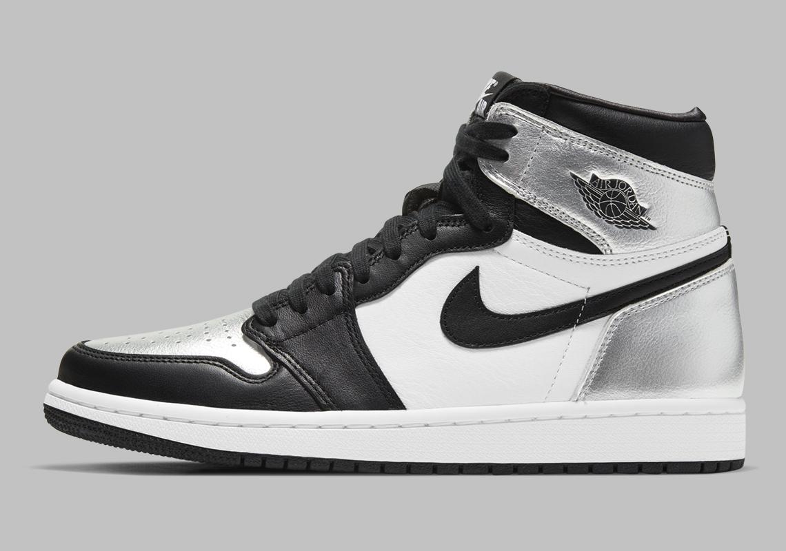 Air Jordan 1 Retro High OG ''Silver Toe'' - CD0461-001