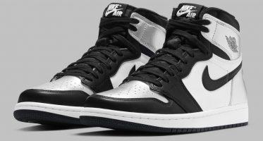 Air Jordan1 Retro High OG ''Silver Toe''
