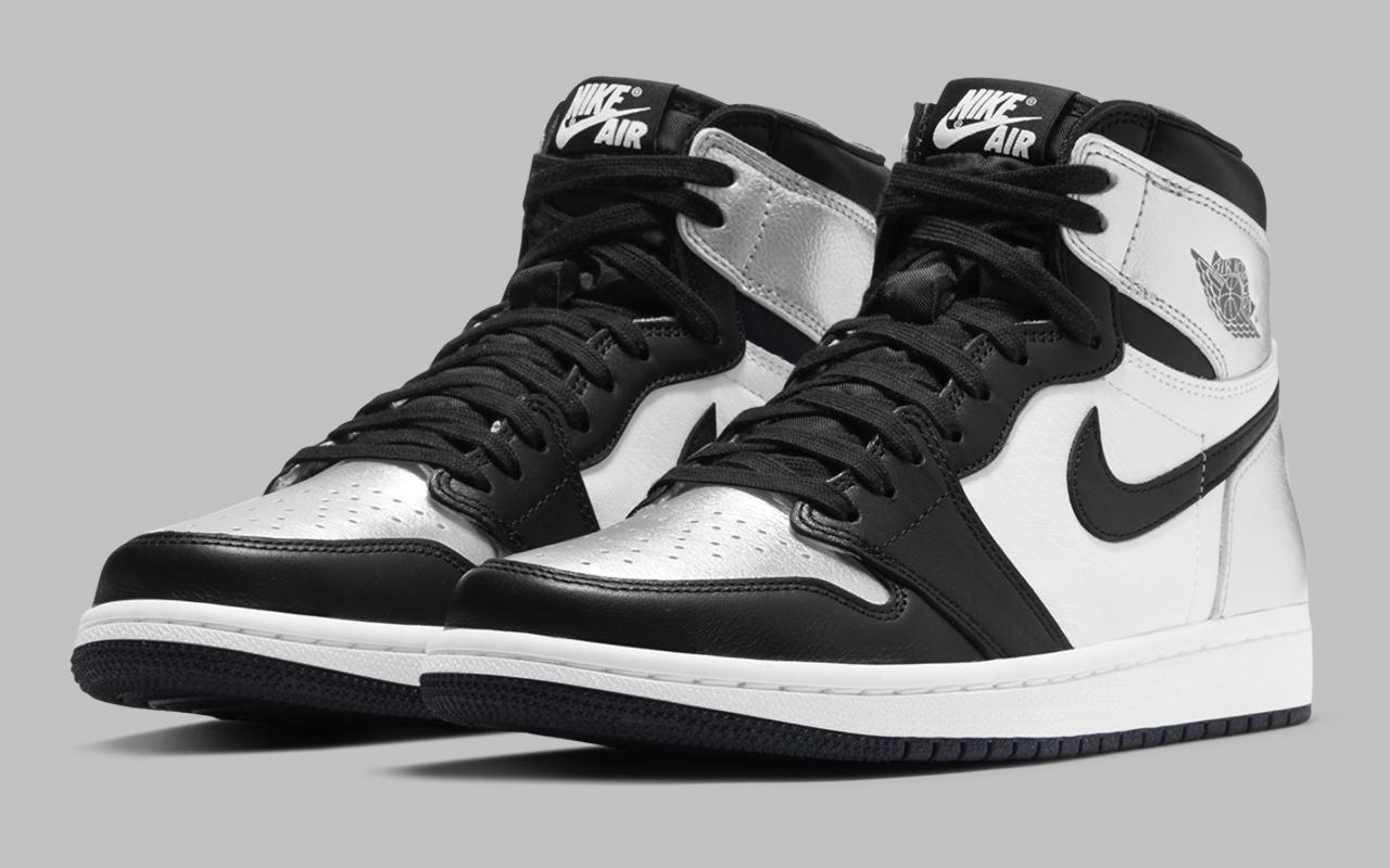 Air Jordan 1 Retro High OG ''Silver Toe'' - CD0461-001 - Sneaker Style
