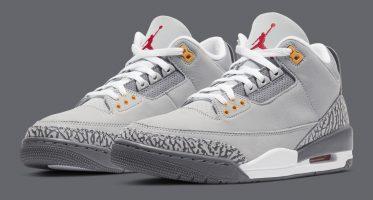 Air Jordan3 ''Cool Grey''