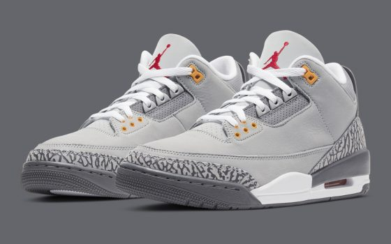 Air Jordan 3 ''Cool Grey'' - CT8532-012