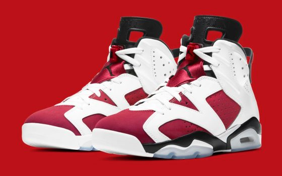 Air Jordan 6 Retro ''Carmine'' - CT8529-106