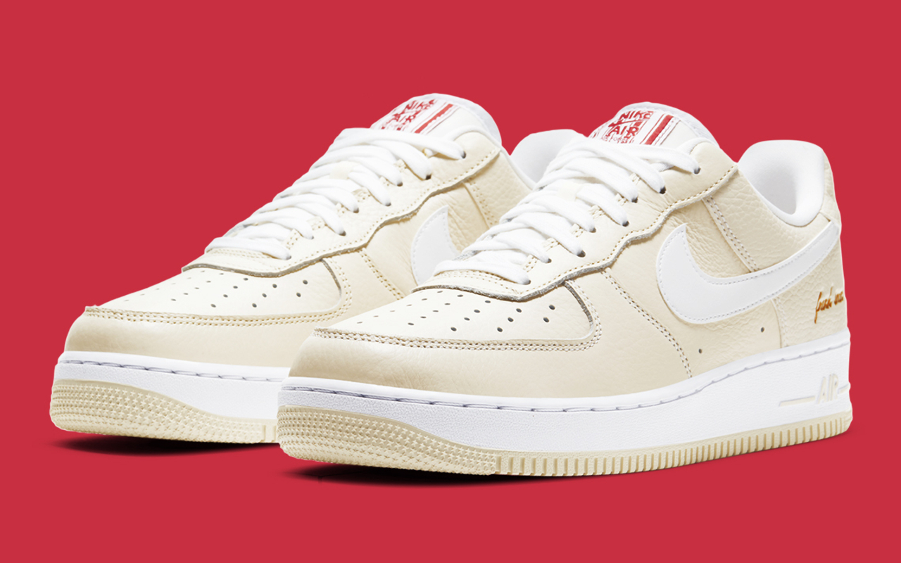 Nike Air Force 1 Low ''Popcorn'' - CW2919-100 - Sneaker Style