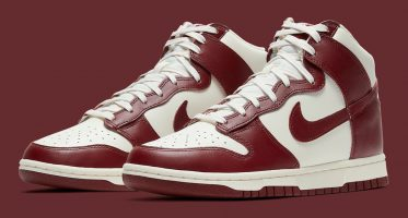 NikeDunk High ''Team Red''