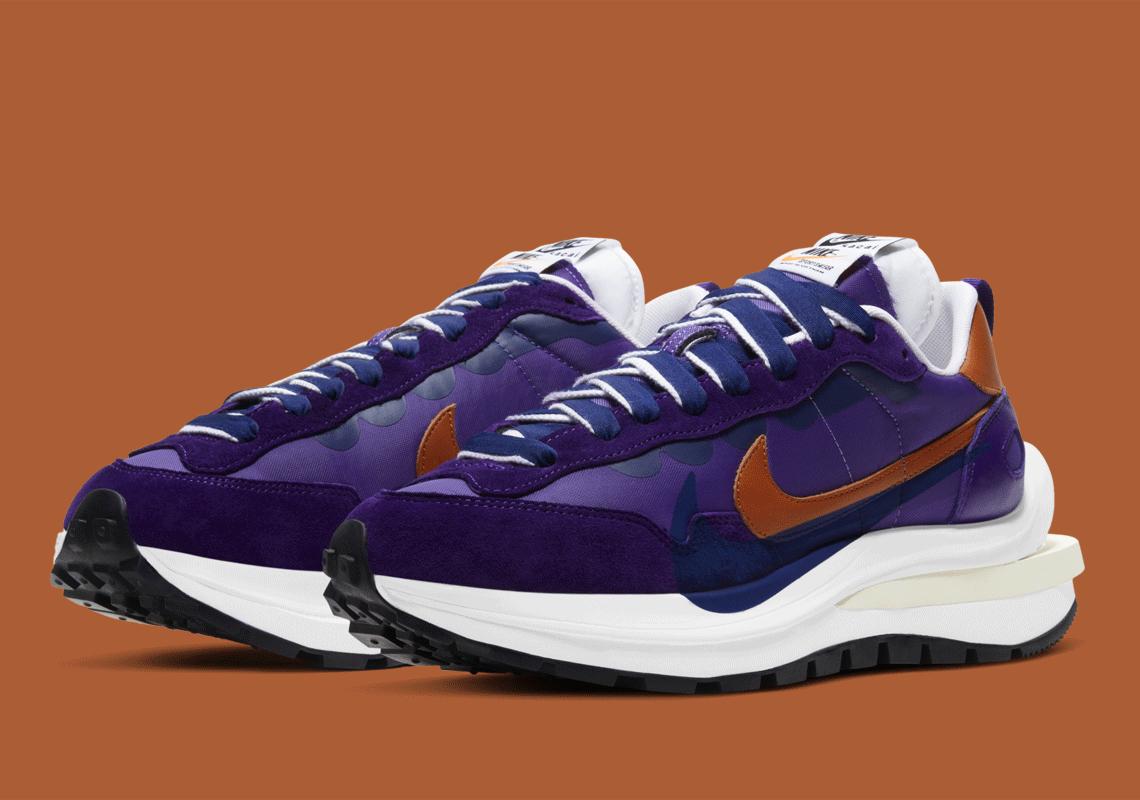 Sacai x Nike VaporWaffle ''Dark Iris'' - DD1875-500