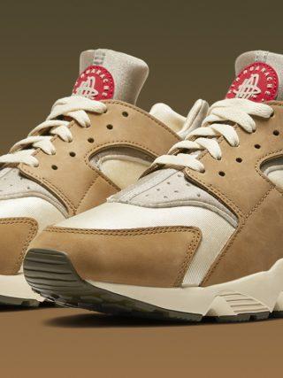 Stüssy x Nike Air Huarache LE ''Desert Oak'' - DD1381-200