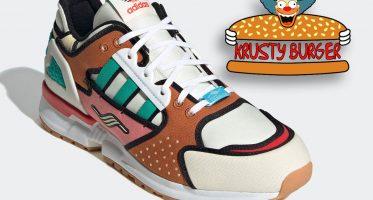 The Simpsonsadidas ZX 10000 ''Krusty Burger''