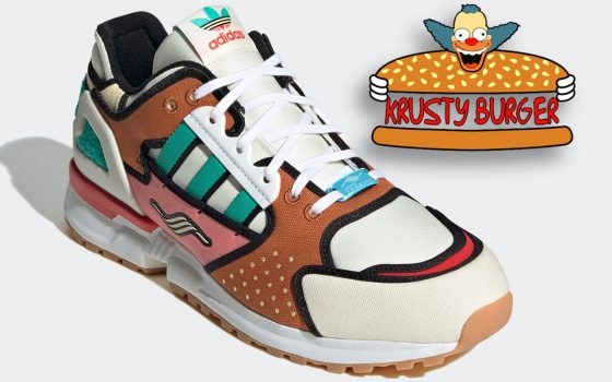The Simpsons x adidas ZX 10000 ''Krusty Burger'' – H05783