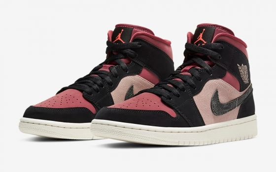 Air Jordan 1 Mid ''Canyon Rust'' - BQ6472-202