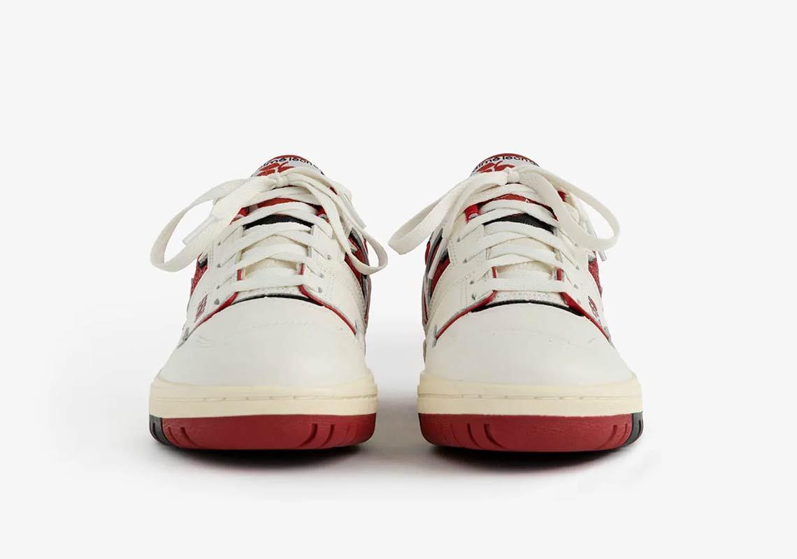 Aimé Leon Dore x New Balance 550 ''White/Red'' - BB550AE1