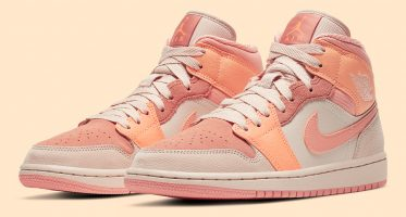 Air Jordan1 Mid ''Atomic Orange''