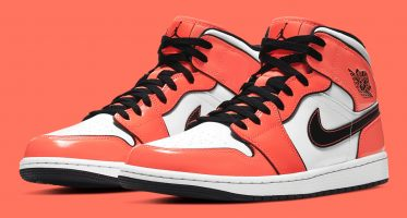 Air Jordan1 Mid SE ''Turf Orange''