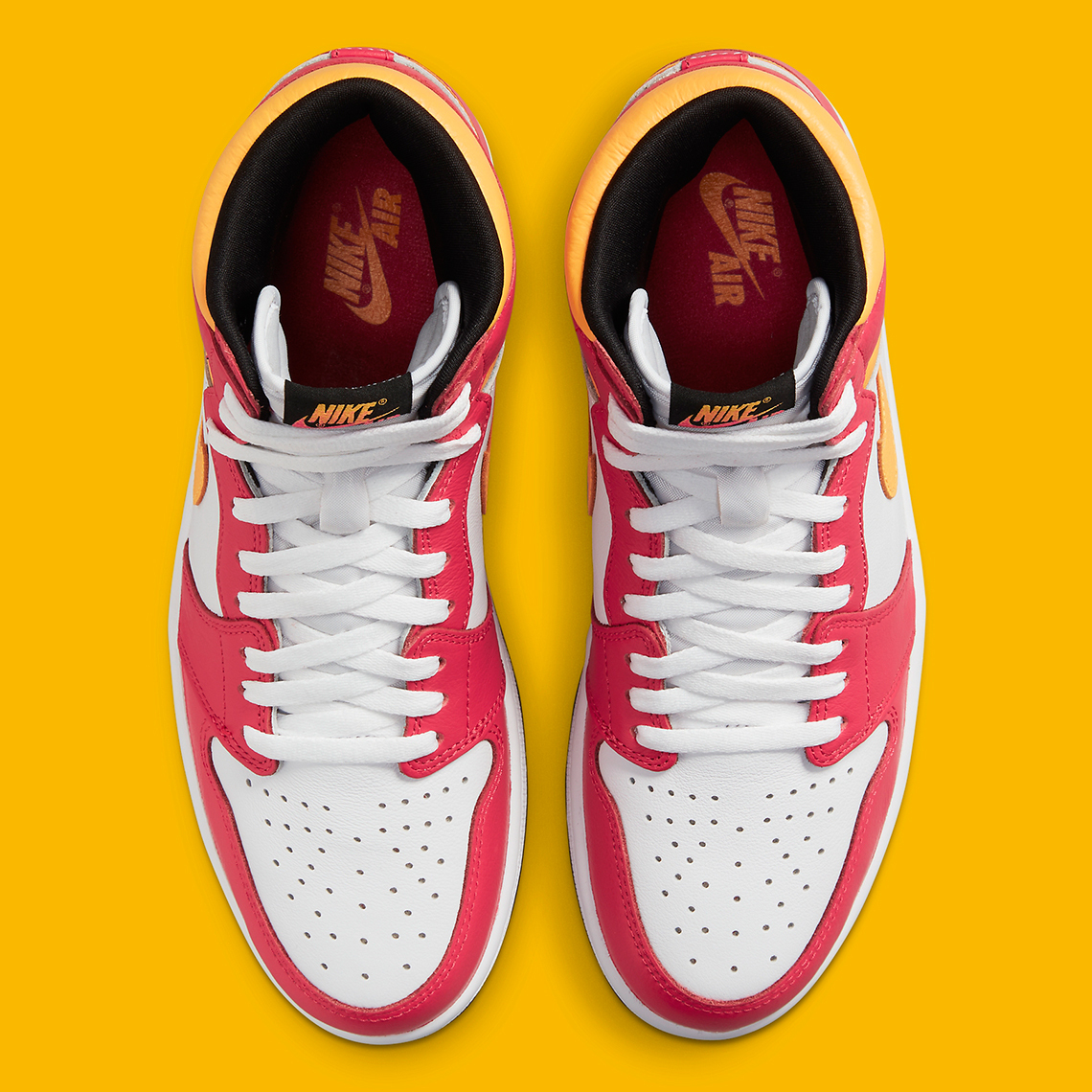Air Jordan 1 Retro High OG ''Light Fusion Red'' - 555088-603