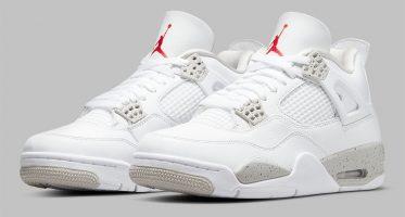 Air Jordan4 ''Tech Grey''/''Oreo''