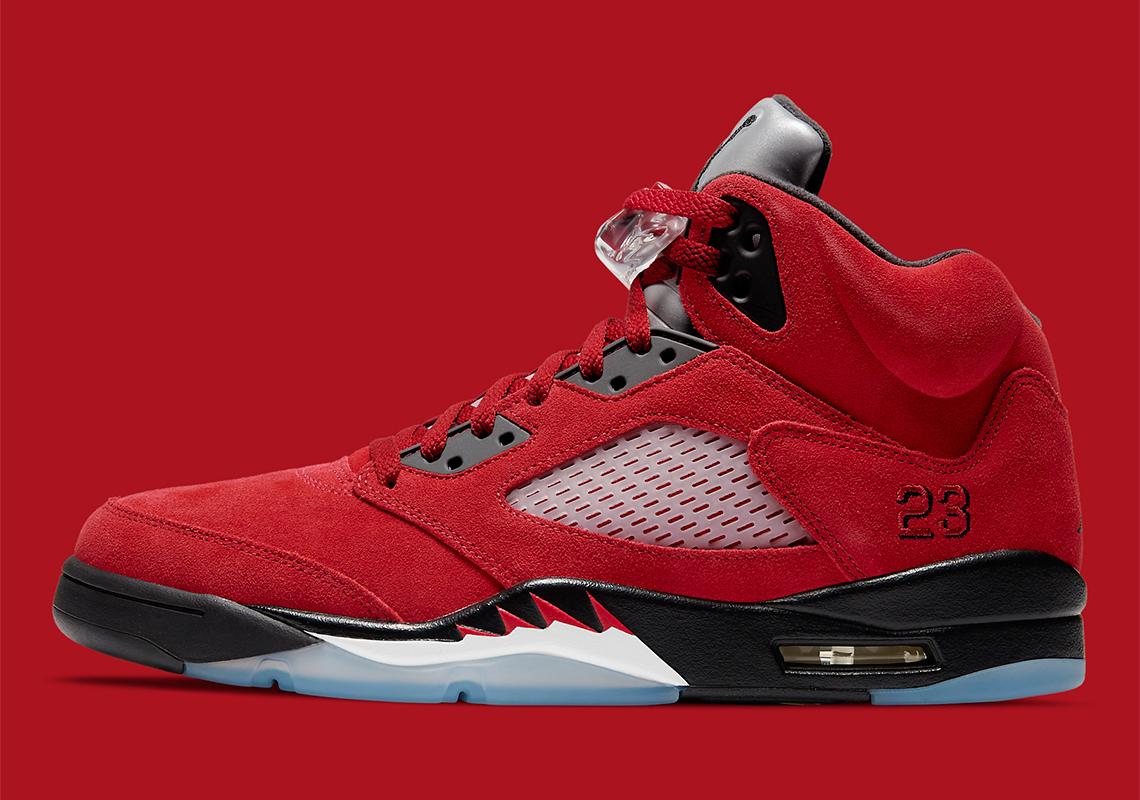 Air Jordan 5 Retro ''Raging Bull'' - 2021 - DD0587-600