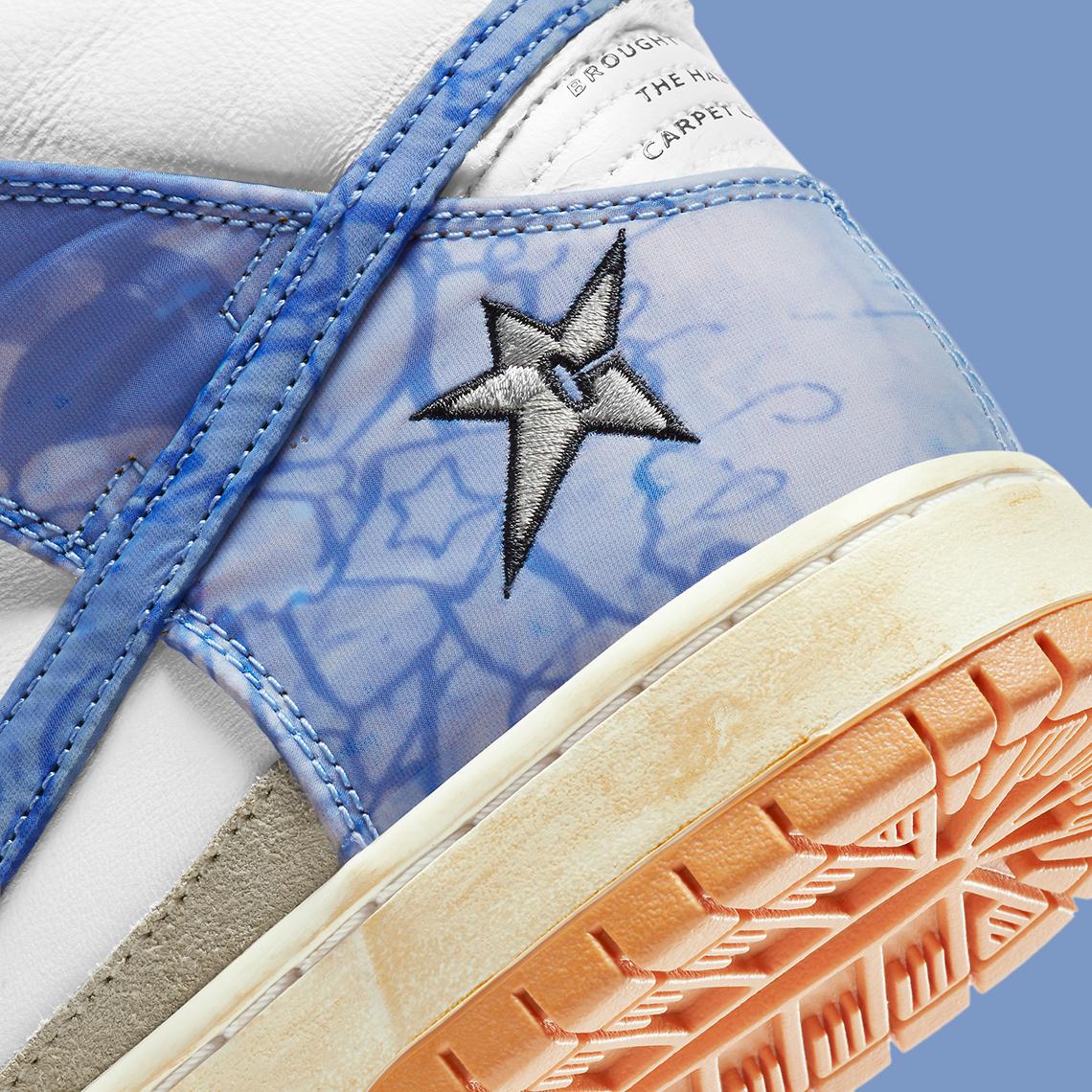 Carpet Company x Nike SB Dunk High ''Royal Pulse'' – CV1677-100