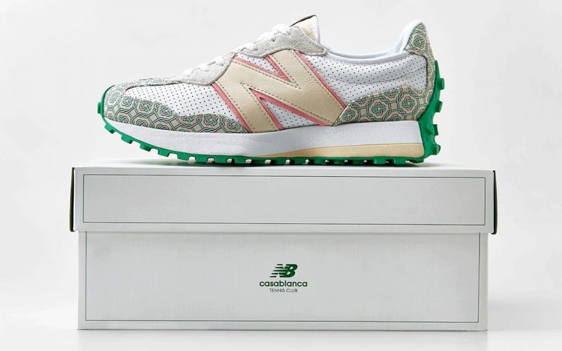 Casablanca x New Balance 327 ''Holly Green'' - MS327CAB