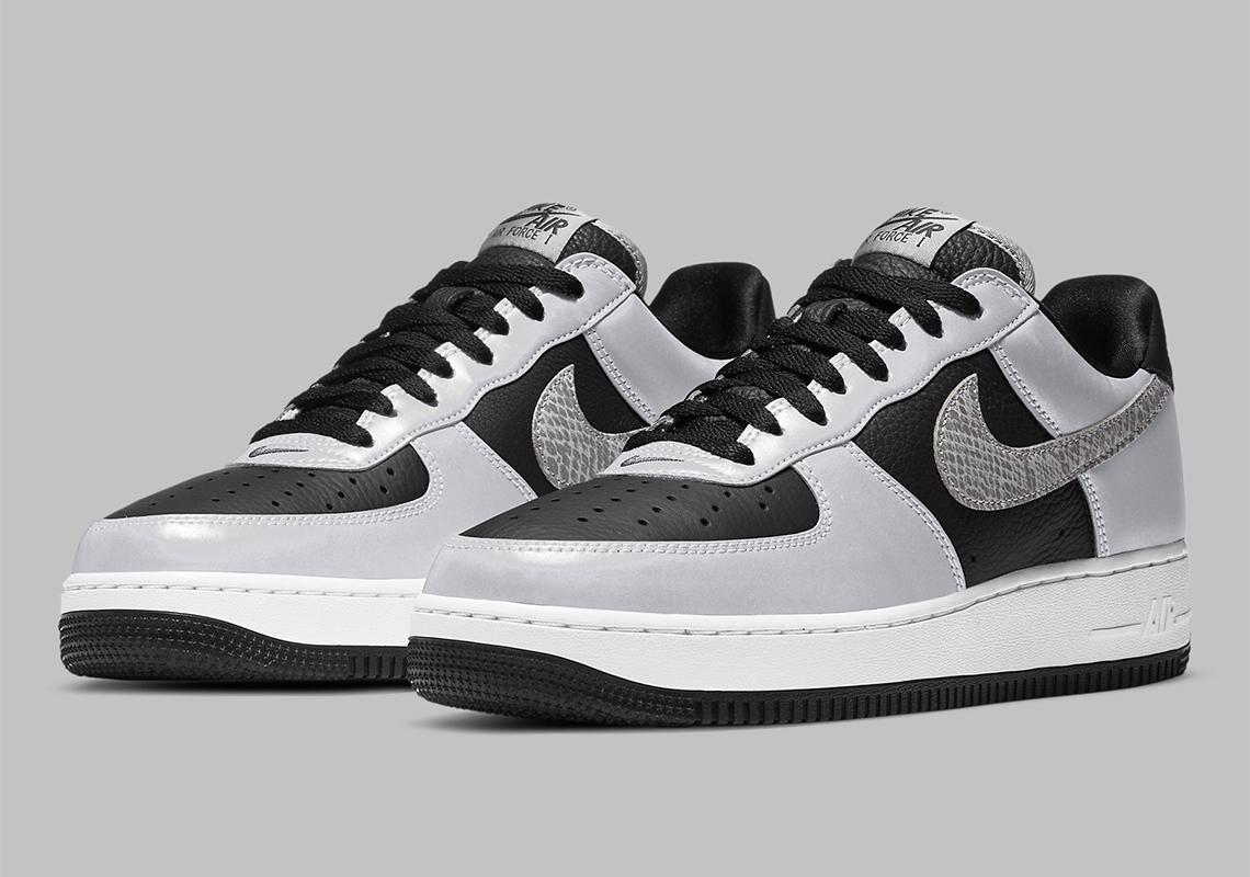 Nike Air Force 1 B ''Reflective Snakeskin'' - DJ6033-001