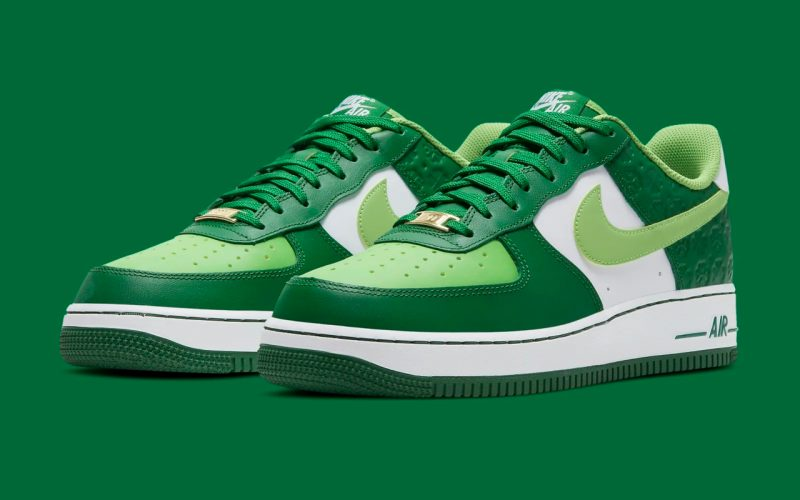 Nike Air Force 1 Low ''St. Patrick's Day'' - 2021 - DD8458-300
