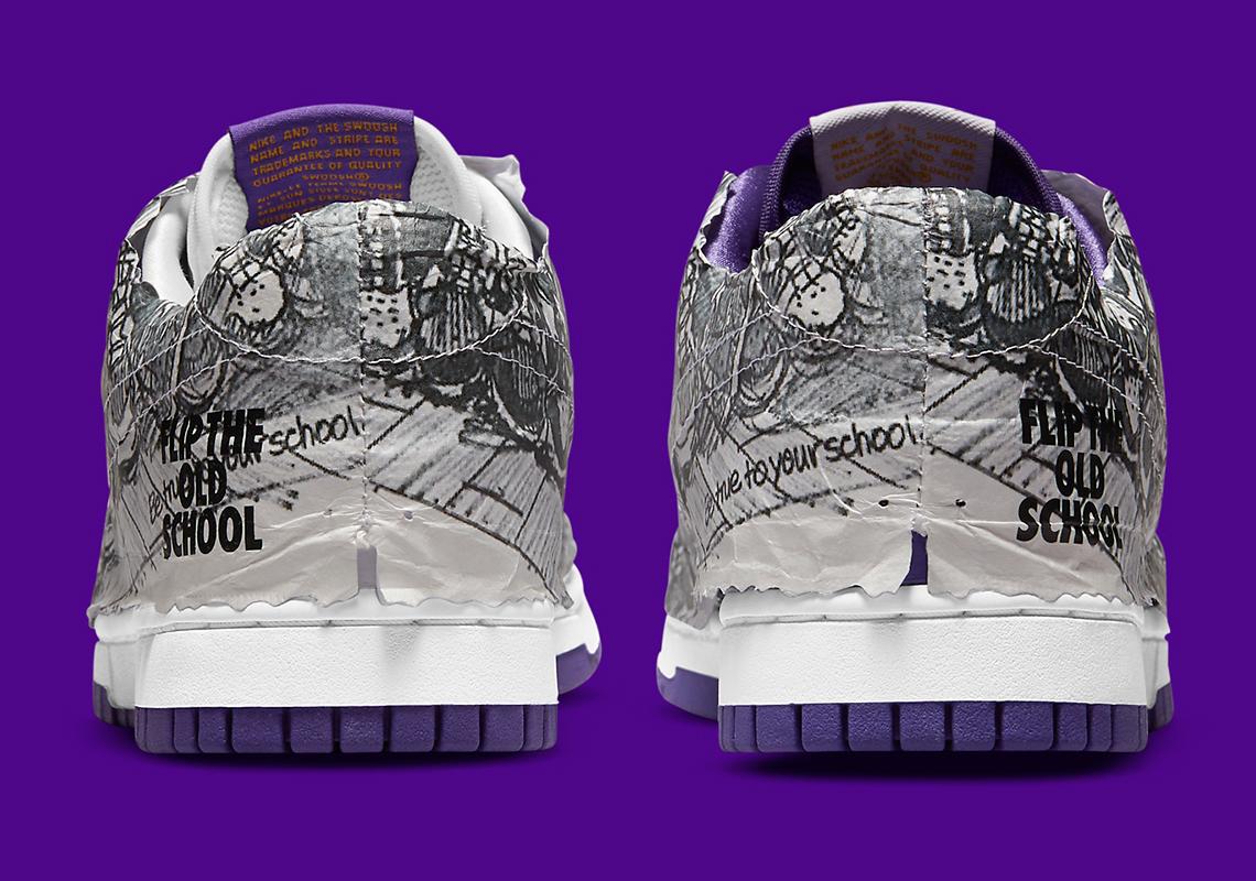 Nike Dunk Low ''Flip The Old School'' - DJ4636-100