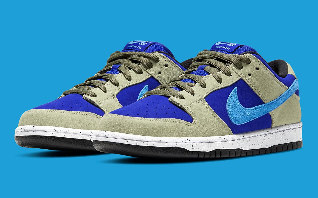 Nike SB Dunk Low ''Celadon'' - BQ6817-301 - Sneaker Style
