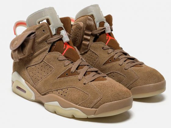 Travis Scott x Air Jordan 6 ''British Khaki'' - DH0690-200