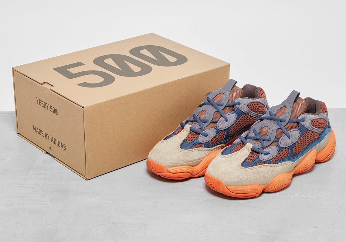 adidas Yeezy 500 ''Enflame'' - GZ5541