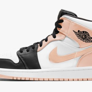 Air Jordan 1 Mid ''Crimson Tint'' - 554724-133
