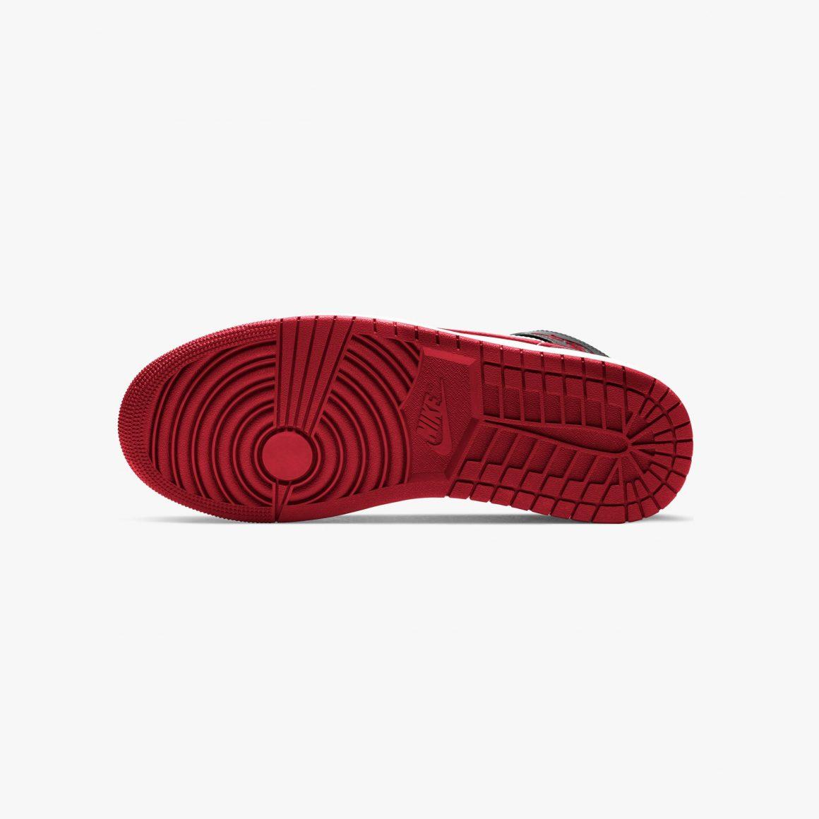 Air Jordan 1 Mid ''Metallic Red'' - 554724-122